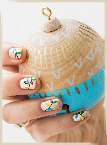 Holiday Party Nail Inspo