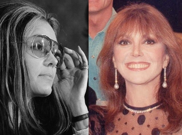 Gloria Steinem And Marlo Thomas