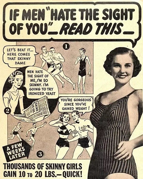1930s: Ironized Yeast For Curves