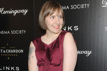 Lena Dunham Wore A Beauty Look Straight From The Runways, Can You Spot It?