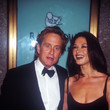 Catherine Zeta-Jones and Michael Douglas Then