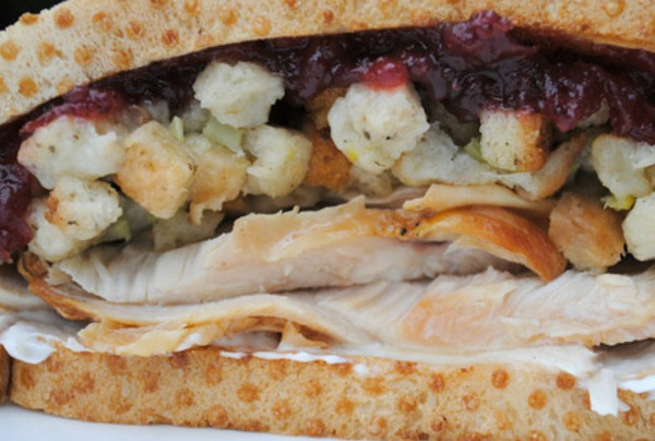 The Ultimate Thanksgiving Sandwich