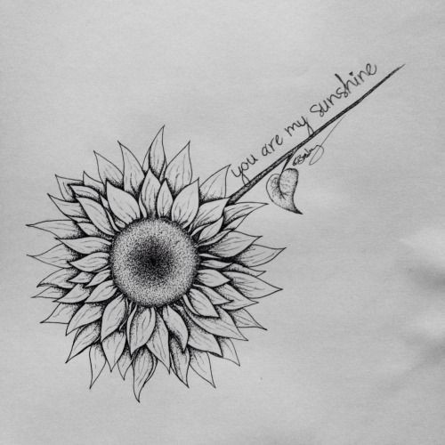 Tattoo Ideas You Are My Sunshine: The Most Inspiring Quote Tattoo Ideas