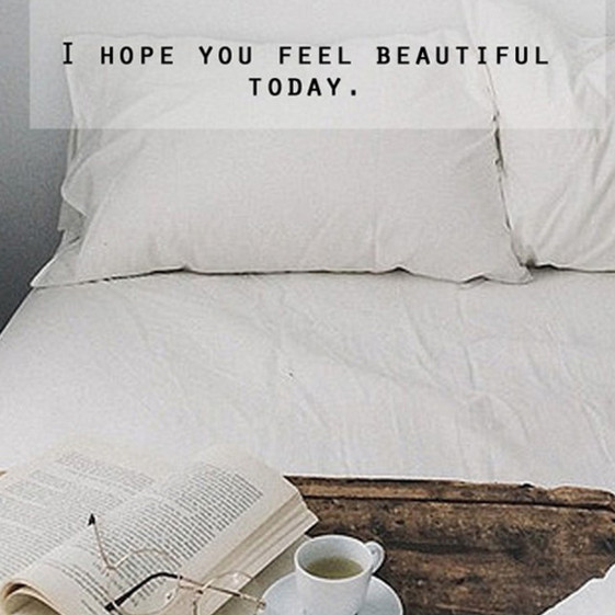 Feel Beautiful Quote