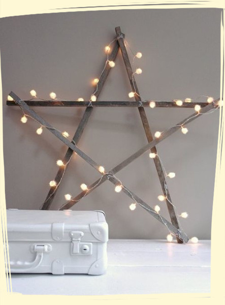 Rustic Christmas Light Ideas That Prove Holiday Decor Can Be Chic