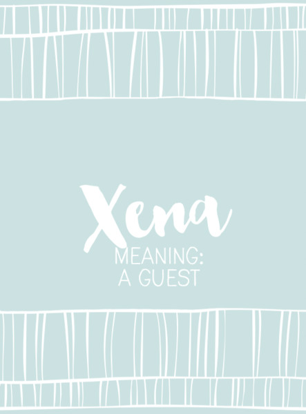 Xena - Cool Baby Names That Start With X, Y, or Z - Livingly