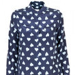 Equipment's Blue Hearts Blouse