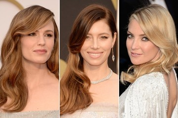 Spotted On The Red Carpet: Veronica Lake Curls