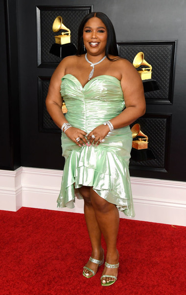 Lizzo At The 2021 Grammy Awards