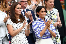 Kate Middleton And Meghan Markle Bond During Their First Solo Outing