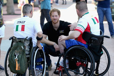 Prince Harry Supports Injured Veterans at the Invictus Games, Continues to Channel Princess Diana