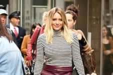 Look of the Day: Hilary Duff's Street Style