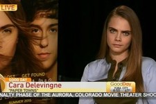 Cara Delevingne Was Made Fun of By Morning TV Show Hosts
