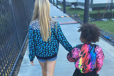 Blue Ivy Carter and Apple Martin Hold Hands Before Parents' Super Bowl 50 Performance
