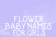 Flower Baby Names for Girls