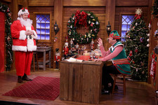 Chris Pratt Transformed Into the Cutest, Roundest Santa Claus on 'Fallon'