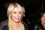 Paris Hilton and her boyf Cy Waits dine out at Hollywood hotspot Katsuya before hitting some nightclubs.