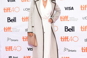 Susan Sarandon Wool Coat