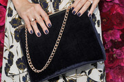 Lauren Conrad Velvet Bag