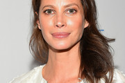 Christy Turlington Long Wavy Cut
