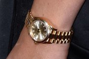 Kylie Jenner Gold Quartz Watch