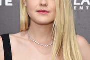 Dakota Fanning Long Side Part