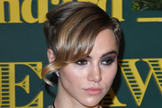 Suki Waterhouse Braided Updo