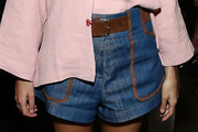Leandra Medine Denim Shorts