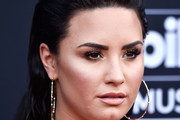 Demi Lovato Long Straight Cut