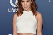 Ashley Tisdale Crop Top