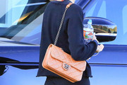 Alessandra Ambrosio Quilted Leather Bag