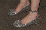 Courtney Love Embellished Flats