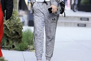 Suki Waterhouse Sports Pants