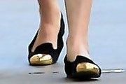 Rumer Willis Smoking Slippers