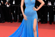 Blake Lively One Shoulder Dress