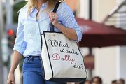 Reese Witherspoon Printed Shoulder Bag