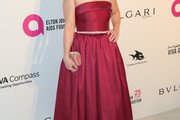 Erika Christensen Strapless Dress
