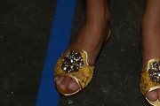 Leandra Medine Slide Sandals
