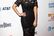 Jamie-Lynn Sigler Lace Dress