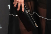 Margot Robbie Leather Clutch