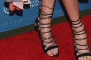 Charlize Theron Strappy Sandals