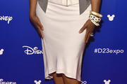 Oprah Winfrey Knee Length Skirt