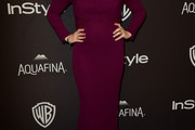 Alyssa Milano Form-Fitting Dress