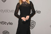 Emily VanCamp Little Black Dress