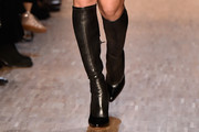 Irina Shayk Knee High Boots