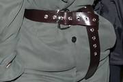 Kim Kardashian Leather Belt