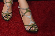 Blake Lively Strappy Sandals