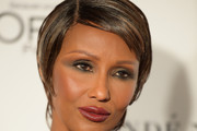 Iman Side Parted Straight Cut