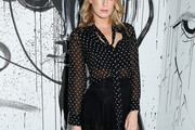 Alexandra Richards Sheer Top