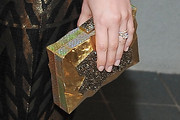 Leighton Meester Box Clutch